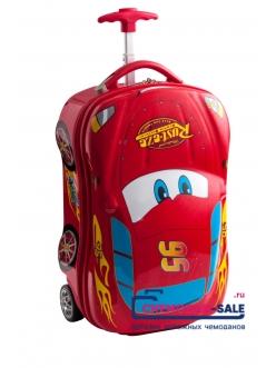 Детский чемодан Молния Маккуин 3D
