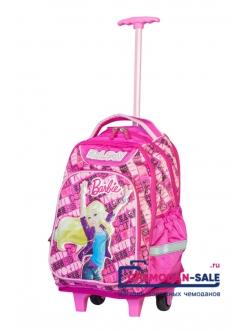 Чемодан-рюкзак детский Barbie