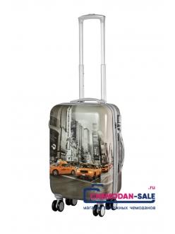 Чемодан-тележка на колесах «New York Taxi»