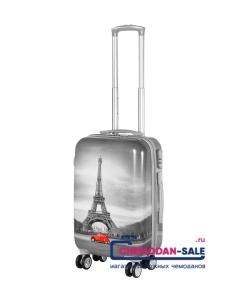 Чемодан-тележка на колесах «Paris»