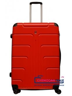 Чемодан на колесах «Luyida» Красный из Поликорбоната